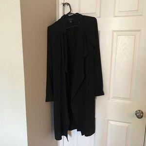 Sheer black coat